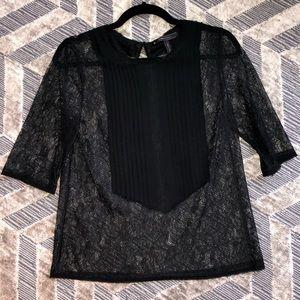 Bcbg Maxazria lace shirt
